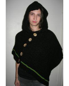 kit tricot cape à capuche Big Fun
