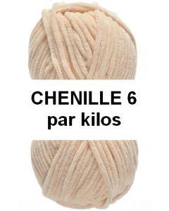 1 kilo pelotes CHENILLE 6 de lammy