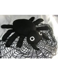 Kit tricot coussin araignée spécial halloween