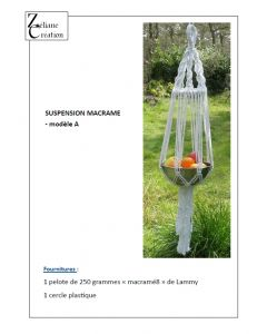 FICHE MACRAME suspension 1