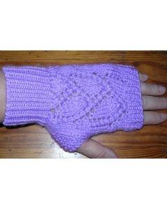 kit tricot Mitaines première modèle 1 taille unique ados-adultes