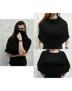 kit tricot chauffe épaules irlandaise point de blé