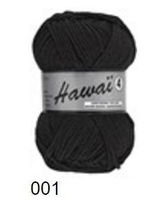 pelote 50 g Hawai4 de Lammy coloris noir 001