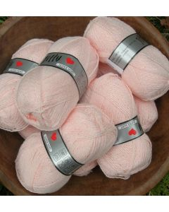 pelote de 50 g Jiffy Super Soft coloris rose clair 710