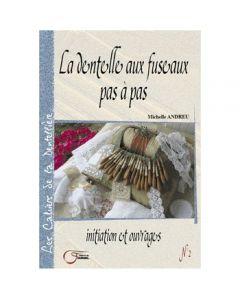 livre n°2 : LA DENTELLE AUX FUSEAUX PAS À PAS - Fournel
