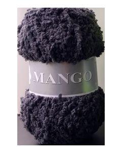 pelote 50 g Mango uni de TDLM coloris 100 anthracite