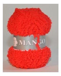 pelote 50 g Mango uni de TDLM coloris 43 rouge