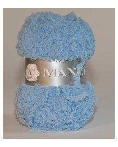 pelote 50 g Mango uni de TDLM coloris 50 bleu