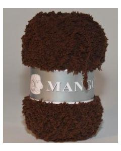 pelote 50 g Mango uni de TDLM coloris 53 chocolat