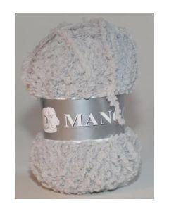 pelote 50 g Mango uni de TDLM coloris 64 gris clair