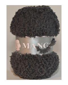 pelote 50 g Mango uni de TDLM coloris 99 gris foncé