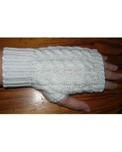 kit tricot Mitaines première modèle 2 taille unique ados-adultes
