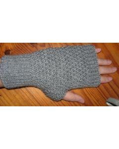 kit tricot Mitaines au point de blé 4 ans à adulte