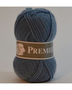 pelote 50 g première de TDLM coloris bleu jeans 14