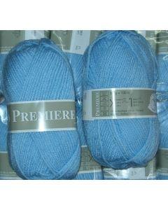 pelote 50 g première de TDLM coloris bleu 17