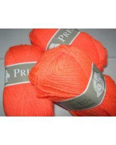pelote 50 g première de TDLM coloris orange 210