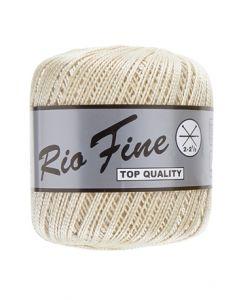 pelote 50 g coton mercerisé RIO FINE coloris 016 écru