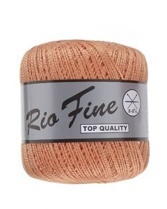 pelote 50 g coton mercerisé RIO FINE coloris 041 orange