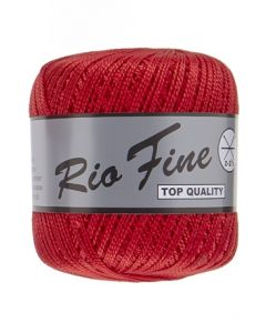 pelote 50 g coton mercerisé RIO FINE coloris 043 rouge
