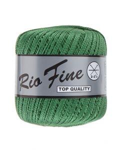 pelote 50 g coton mercerisé RIO FINE coloris 045 vert gazon