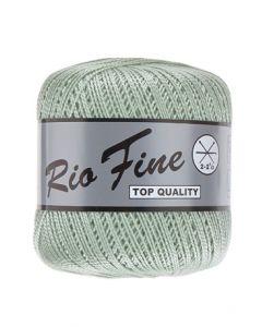 pelote 50 g coton mercerisé RIO FINE coloris 062 vert tendre