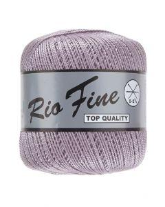 pelote 50 g coton mercerisé RIO FINE coloris 063 lavande