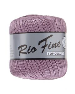 pelote 50 g coton mercerisé RIO FINE coloris 064 lilas