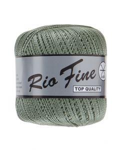 pelote 50 g coton mercerisé RIO FINE coloris 078 vert