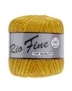 pelote 50 g coton mercerisé RIO FINE coloris 520 ocre