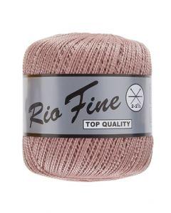 pelote 50 g coton mercerisé RIO FINE coloris 742 rose