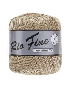 pelote 50 g coton mercerisé RIO FINE coloris 791 ficelle