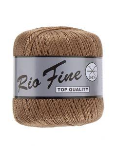 pelote 50 g coton mercerisé RIO FINE coloris 792 marron