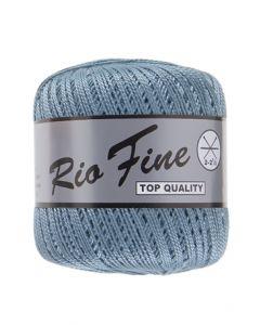 pelote 50 g coton mercerisé RIO FINE coloris 853 bleu