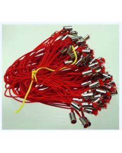 lot de 10 cordons rouges pour mobile