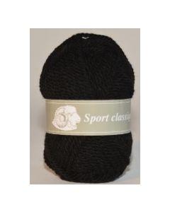 Pelote 50 g SPORT CLASSIQUE de Textiles de la Marque coloris noir 15