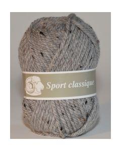 Pelote 50 g SPORT CLASSIQUE de Textiles de la Marque coloris gris moucheté 265