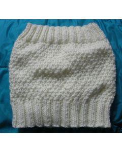 kit tricot SNOOD point de blé taille 4 ans à adulte