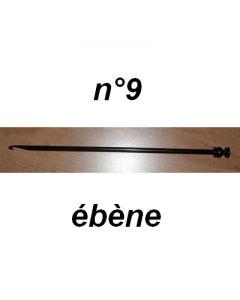 Crochet tunisien en bois d'ébène n°9