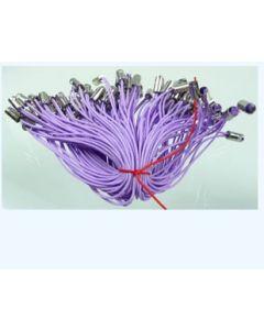 lot de 10 cordons violets pour mobile