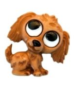 bouton 23 mm polyester petit chien
