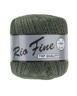 pelote 50 g coton mercerisé RIO FINE coloris 072 vert
