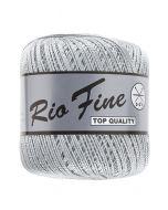 pelote 50 g coton mercerisé RIO FINE coloris 003 gris clair